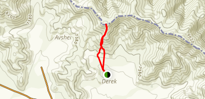 Mount Hol from Charchakis Map