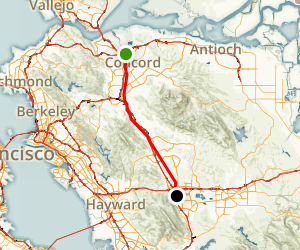 Concord to Dublin via Iron Horse Trail California AllTrails