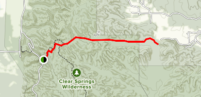 King Hollow Trail Map