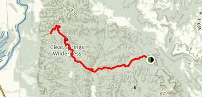 Godwin trail  Map