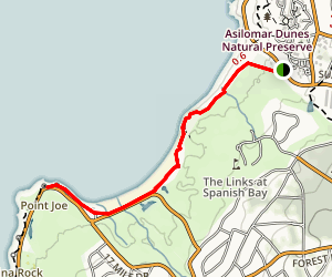 Spanish Bay Trail Map