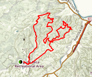 Sea Otter Mountain Bike Loop Map