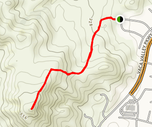 Hillcrest Trail Map
