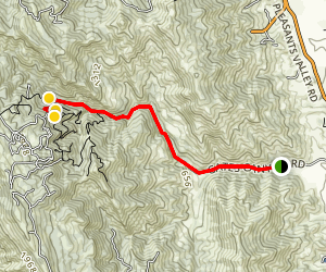Gates Canyon Map