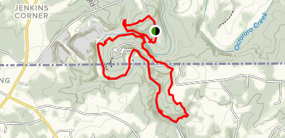 Horseshoe Scout Reservation Loop [PRIVATE PROPERTY} Map