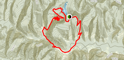 Ice Caves Loop Map