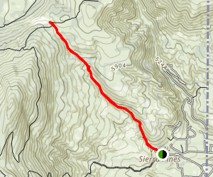 Dog Valley Road Map