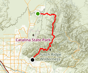Samaniego Ridge Map