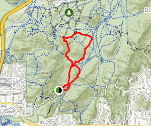 1A, 302 and 304 Trail Loop Map