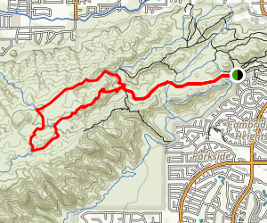 Pima Wash and Mormon Loop Map