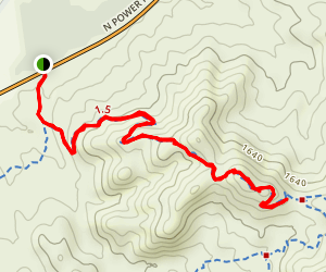 Saguaro Trail Map