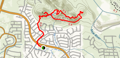 West Wing Mountain Loop Map