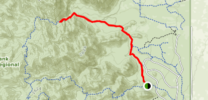 Waddell and Ford Canyon Trail Map