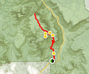 Wilson Mountain Trail Map
