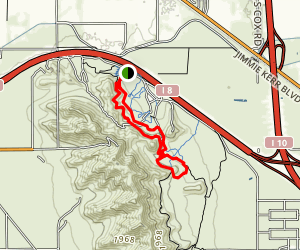 Casa Grande Mountain Trail Map