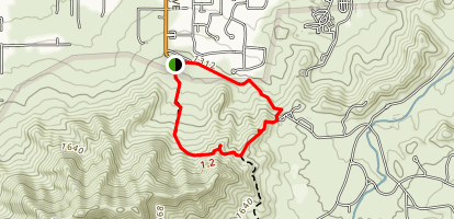 Ma Ha and Crosscut Loop Trail Map