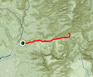 Vultee Arch Trail Map