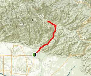 West Fork Sabino Canyon Trail Map