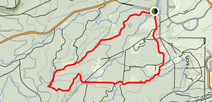 Phil's Trail Combo Loop Map