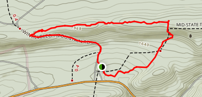Hairy John Trail Loop Map
