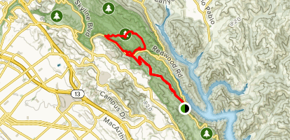 Macdonald, Golden Spike, Orchard, Bridle Trail Loop Map