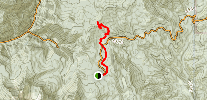 South Fork Little Deer Creek Map