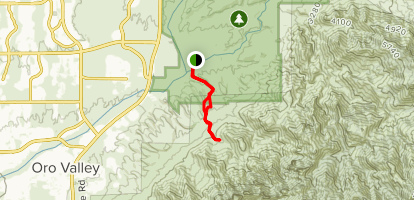 Table Mountain Canyon Map