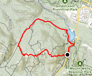Mount McDonald Loop Map