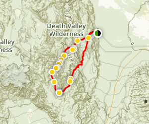 Cottonwood-Marble Canyon Loop Map