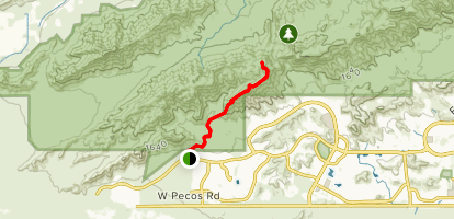 Pyramid Trail Map