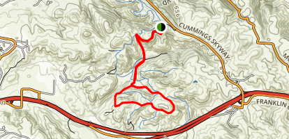 Sugar City to Back Ranch Loop Map