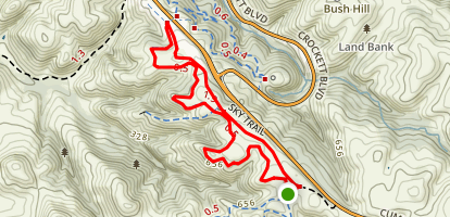 Soaring Eagle and Sky Trail Loop Map