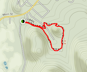 Butler Canyon Trail Map