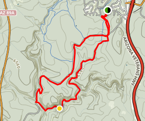 Kelly Canyon Single Track  Map