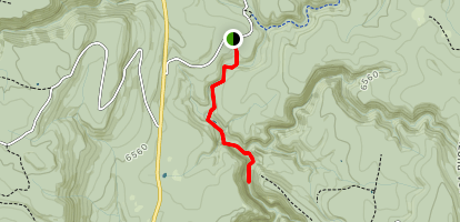 Pumphouse Canyon Map