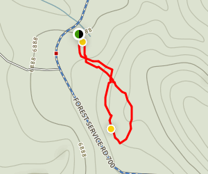 Hot Seat Trail Map