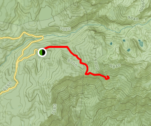 Wolverton to Panther Gap to Mehrten Meadow Map