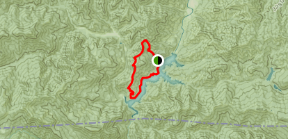 Collings Mountain Trail To Applegate Lake Trail Map
