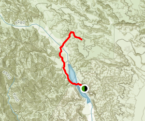 Whitewater High Top Canyon Map