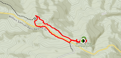 Mountain Top Trail Loop Map
