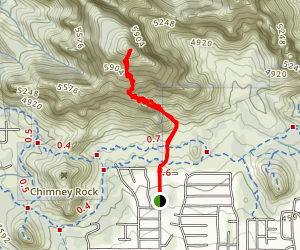 Capitol Butte Map