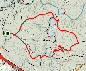 Reedy Creek Trail Loop Map
