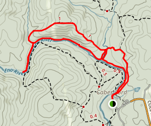 Holden's Mill Trail Map