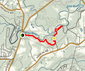 Falls Lake Trail Map