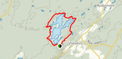 Storsjoleden Loop Map