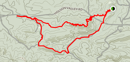 Winding Stair Equestrian Trails Loop Map