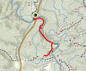 Triple Falls and High Falls River Trail Map