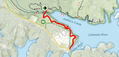 Overmountain Victory National Historic Trail Map