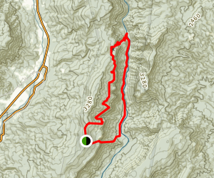 Pinchin to Linville River to Conley to Rock Jock Map