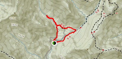 Harry Byran Trail Loop Map
